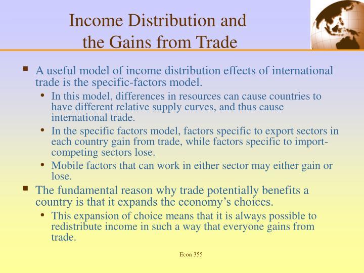Income Distribution and