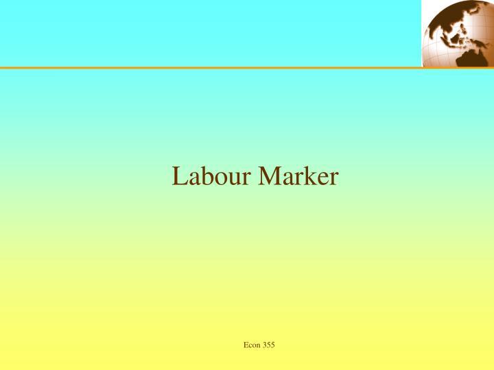 Labour Marker