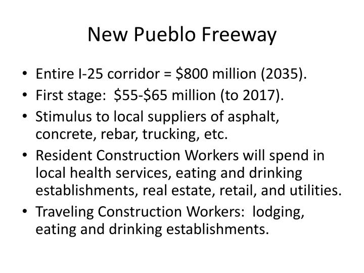 New Pueblo Freeway