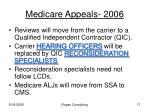 medicare appeals 2006