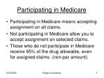 participating in medicare