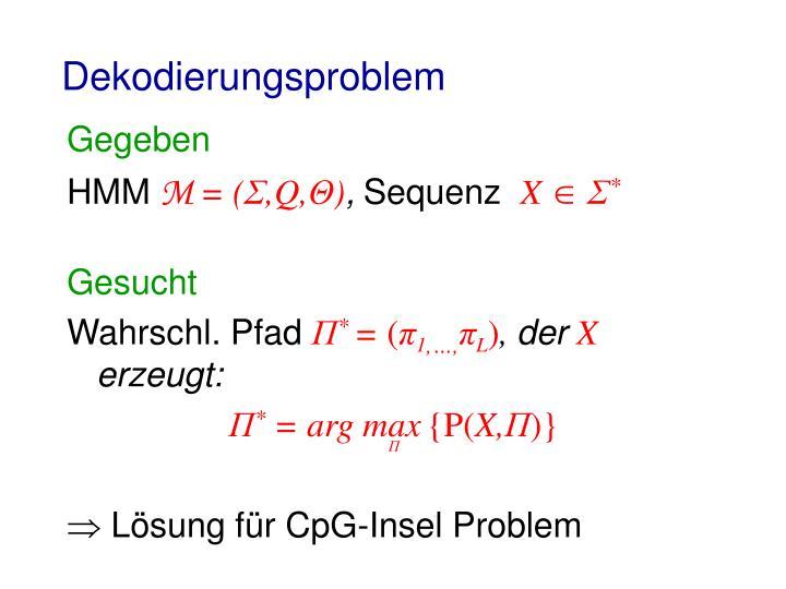 Dekodierungsproblem