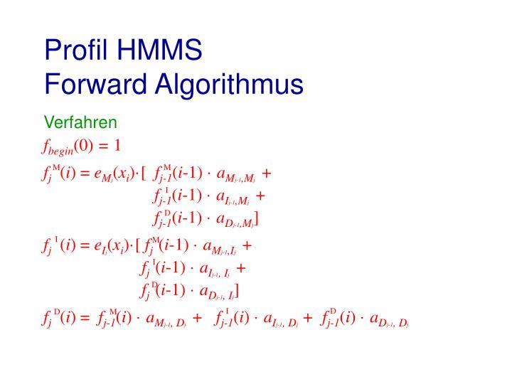 Profil HMMS