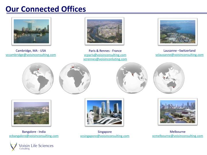 Our Connected Offices