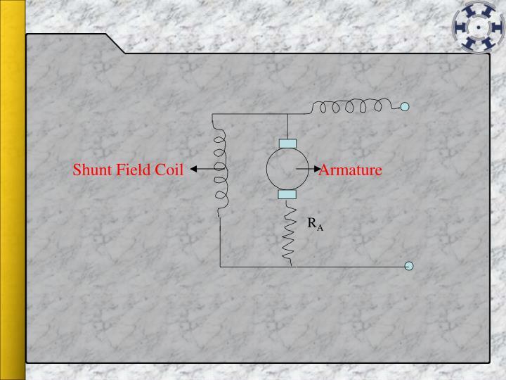 Shunt Field Coil