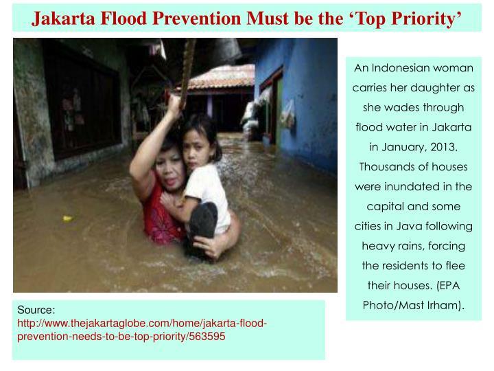 Jakarta Flood Prevention