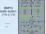 bmp 0x00 0x33