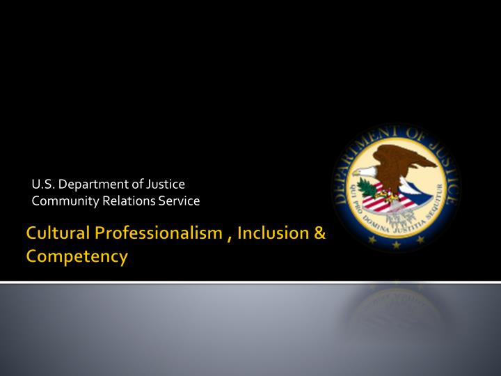 U s department of justice community relations service