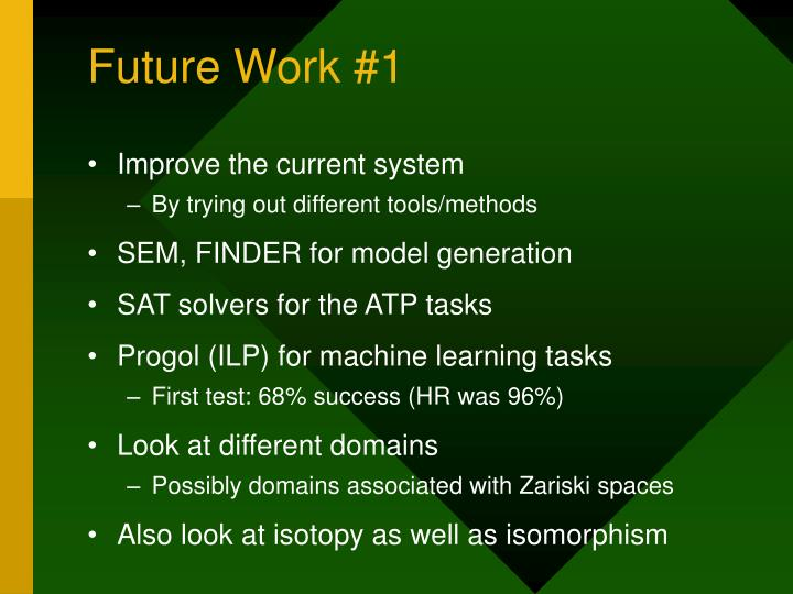 Future Work #1