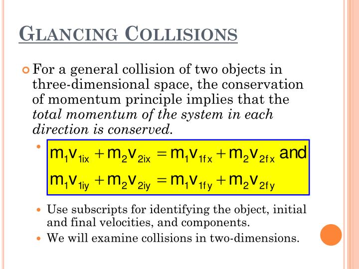 Glancing Collisions