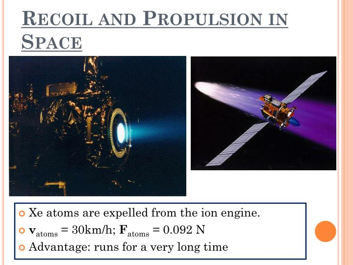 Recoil and Propulsion in Space