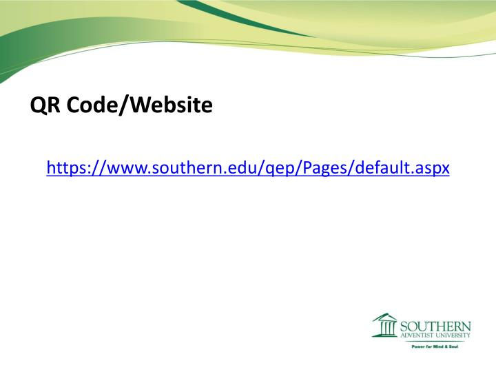 QR Code/Website