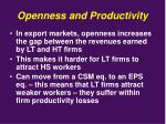 openness and productivity2