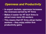 openness and productivity3