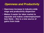openness and productivity4