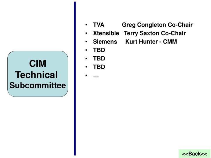 TVA           Greg Congleton Co-Chair