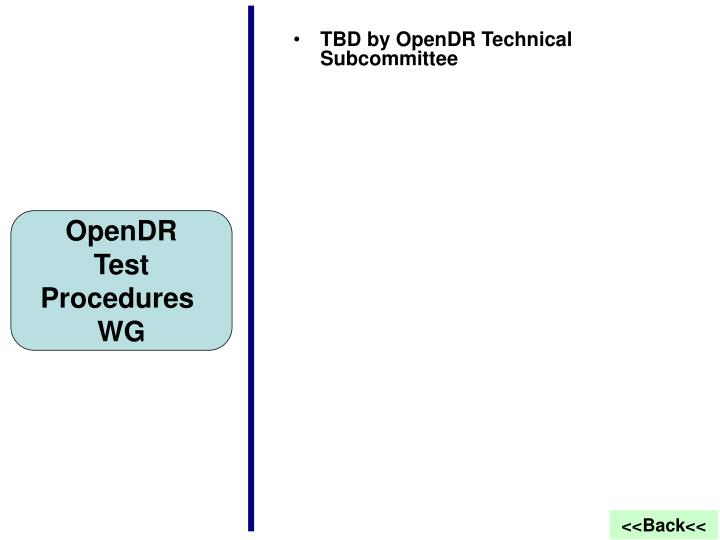 TBD by OpenDR Technical Subcommittee