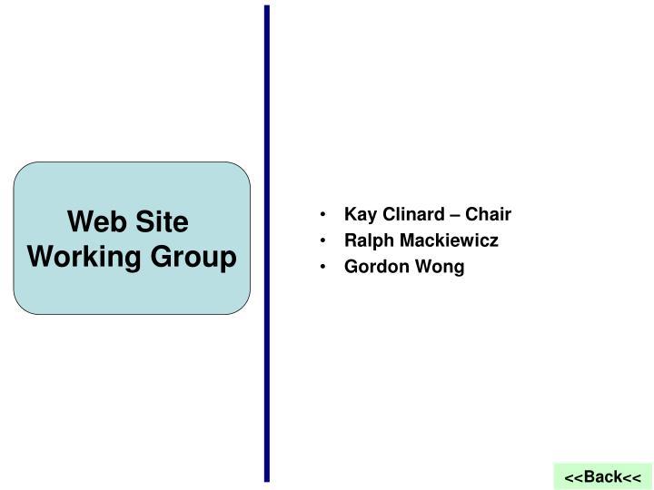 Kay Clinard – Chair