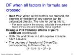 df when all factors in formula are crossed