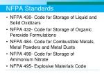 nfpa standards
