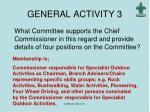 general activity 3
