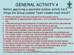 general activity 4