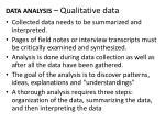 data analysis qualitative data