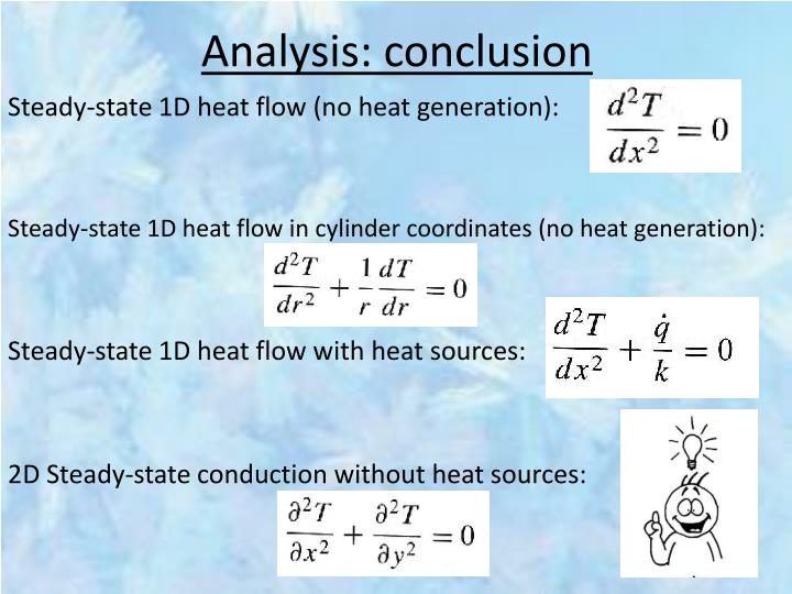 Analysis: conclusion