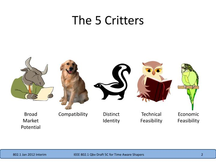 The 5 critters