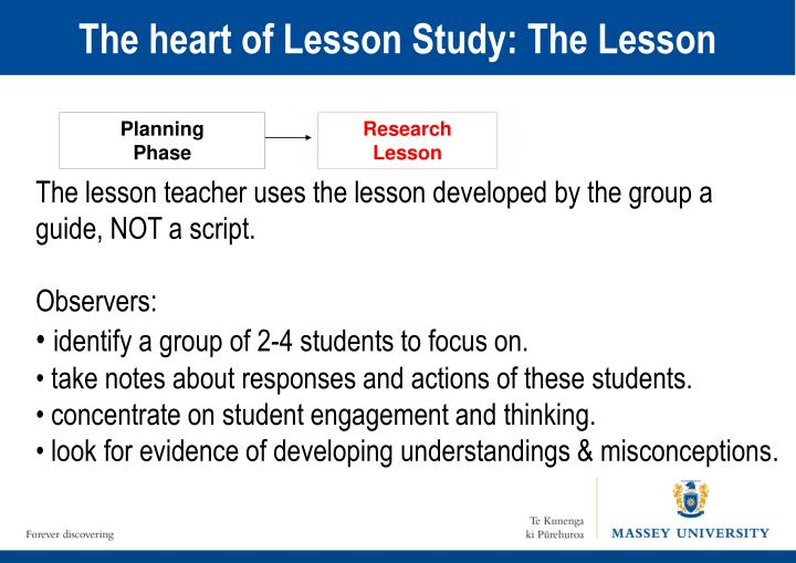 The heart of Lesson