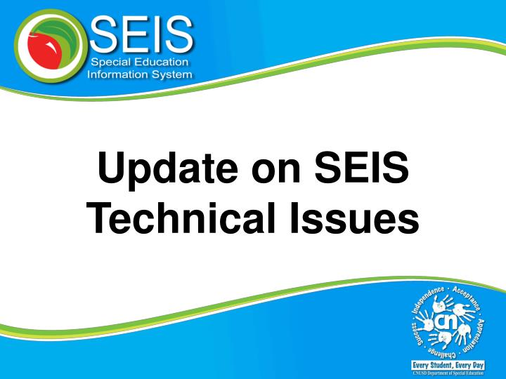Update on SEIS