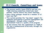 10 2 councils committees and teams3