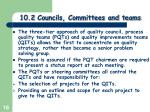 10 2 councils committees and teams4