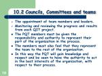 10 2 councils committees and teams5