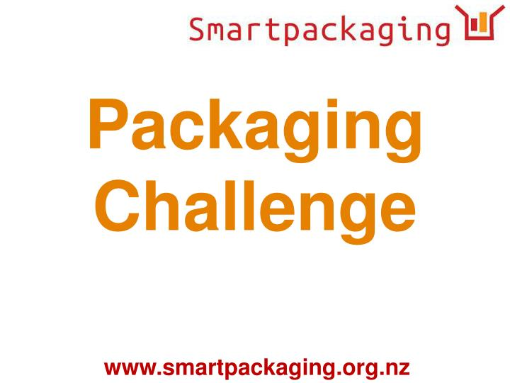 Packaging Challenge