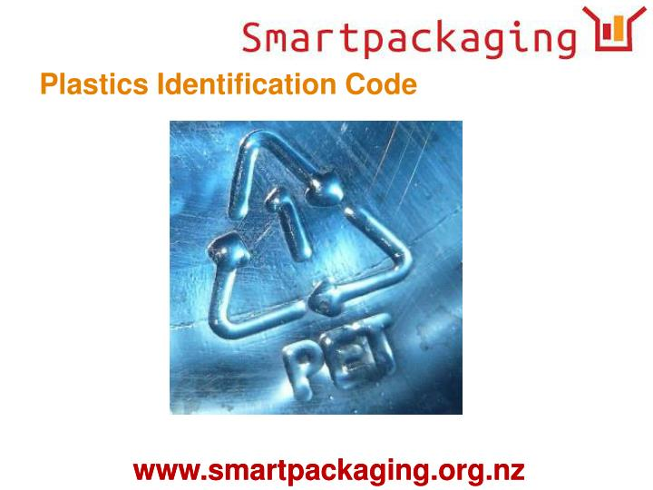 Plastics Identification Code
