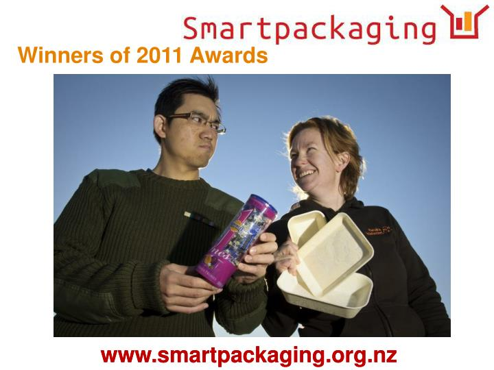Winners of 2011 Awards