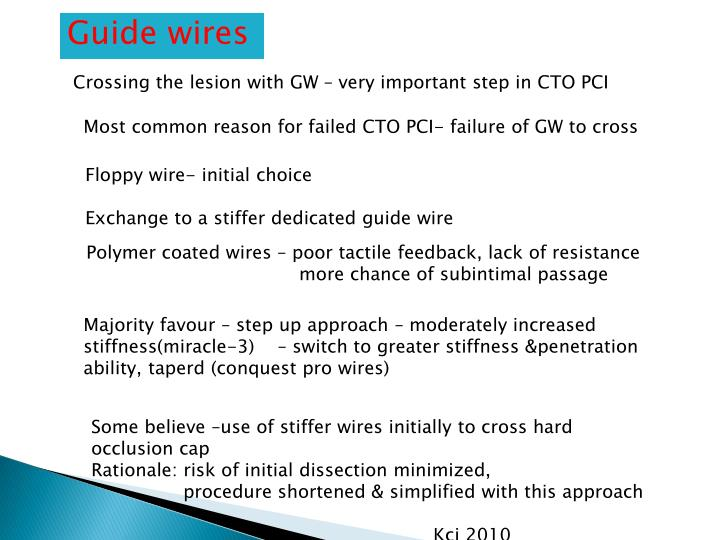 Guide wires