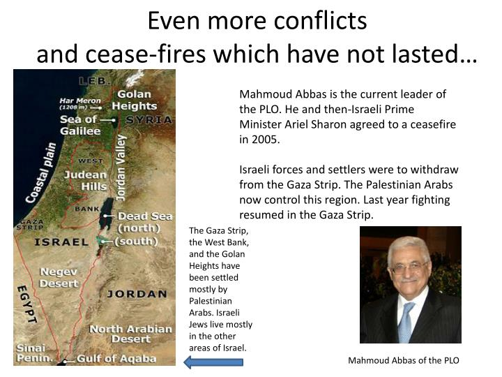 Even more conflicts