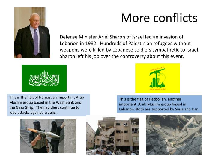 More conflicts