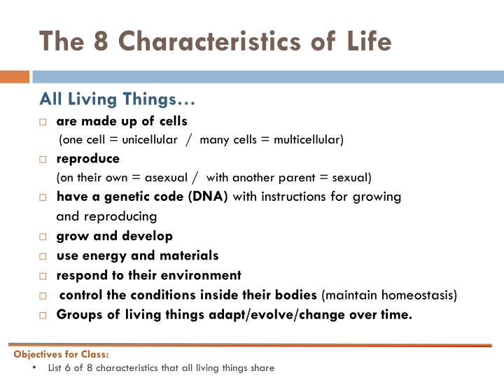 characteristics about biography ppt characteristics of living things powerpoint. Black Bedroom Furniture Sets. Home Design Ideas