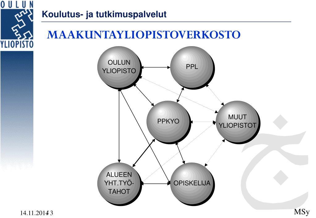 Oulun Yliopisto Avoin Yliopisto