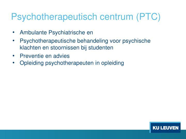 Psychotherapeutisch centrum (PTC)