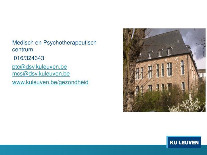 Medisch en Psychotherapeutisch centrum