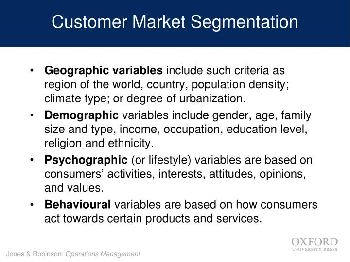 Customer Market Segmentation