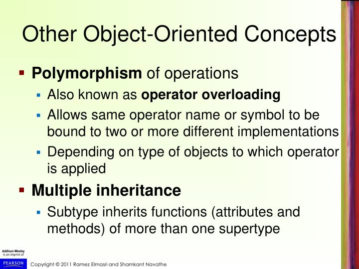 Other Object-Oriented Concepts