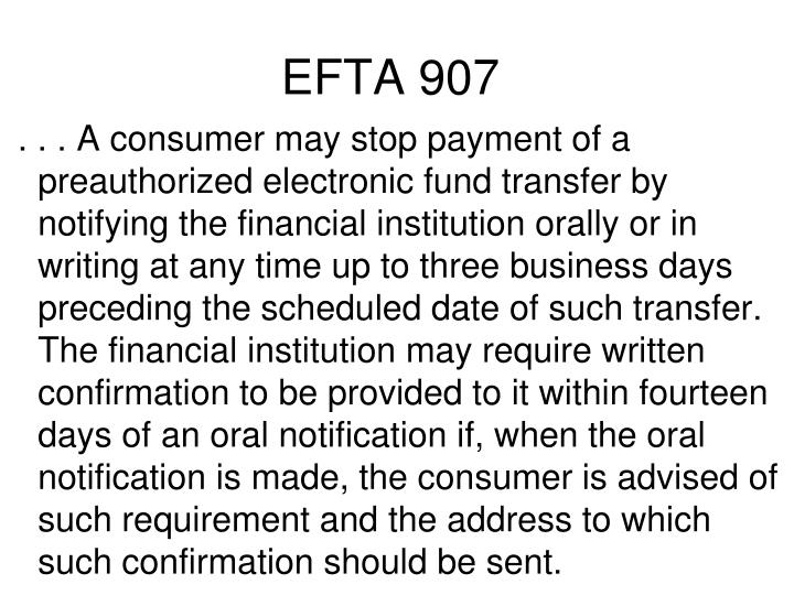 EFTA 907