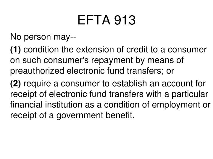 EFTA 913