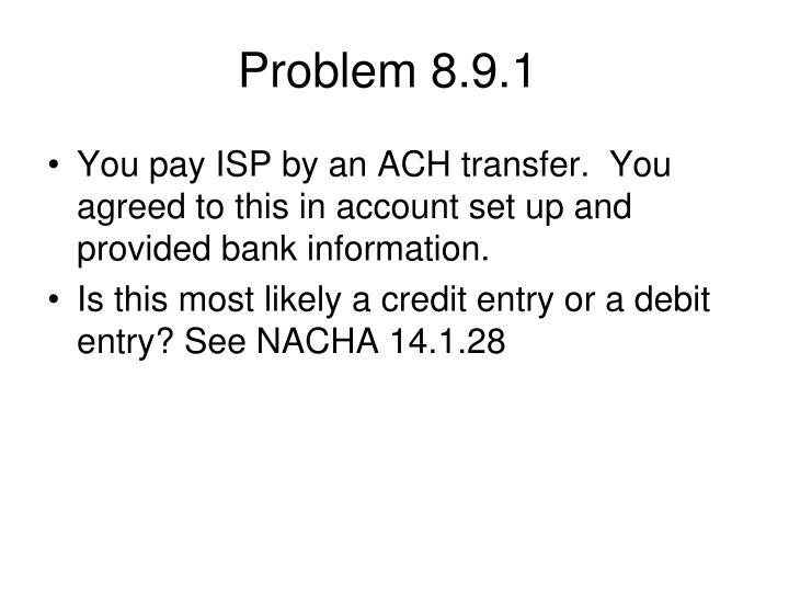 Problem 8.9.1