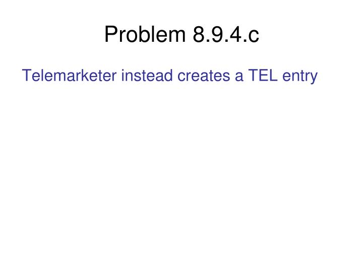Problem 8.9.4.c